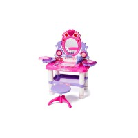 Princess Toy Vanity Mirror Dresser Playset for Kids