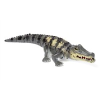 Dash Toyz Battery-Operated Walking Toy Crocodile
