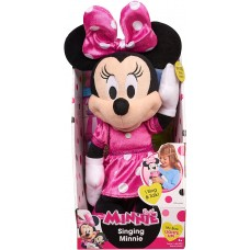Dash Toyz Just Play Minnie Happy Helpers 12' Singing Minnie plush