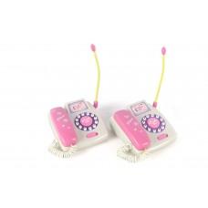 Dash Toyz Wireless Toy Telephones Intercom Set w/ 2 Telephones No Wires 125 Feet Calling Distance
