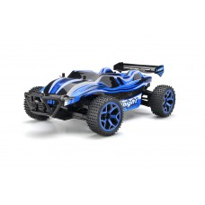 Dash X-Knight Remote Control Truggy Extreme Speed Truck Buggy 1:18 Scale 4 Wheel Drive Rechargeable w/ Working Front Suspension (Colors May Vary)
